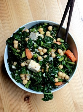 tofu bowl